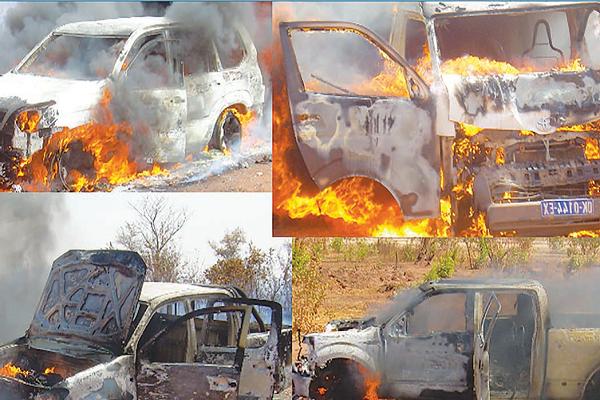 Quatre voitures brulées, huit blessés dont des journalistes : Un peu plus de détails sur les dommages enregistrés hier  à Tamba