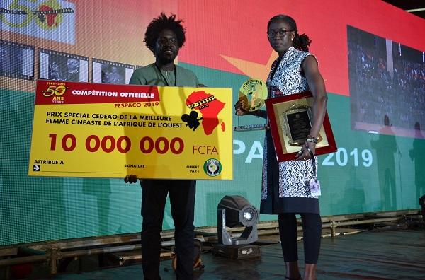 FESPACO 2019 : les prix spéciaux de la CEDEAO attribués a des réalisateurs ivoiriens et sénégalais