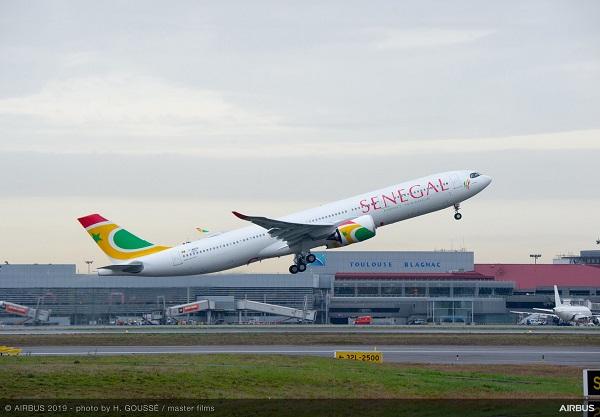 Transport aérien : Air Sénégal vient de réceptionner son premier A330neo