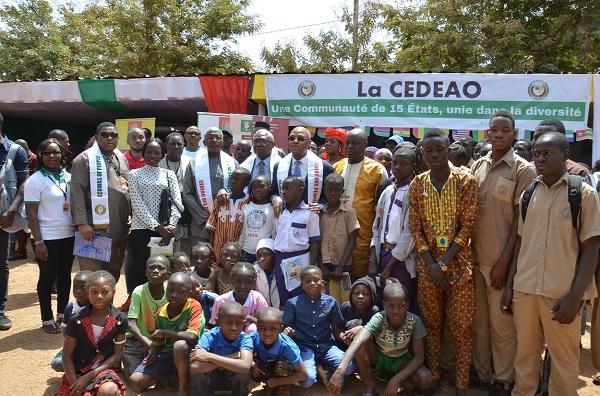 Essor des jeunes : Jean-Claude Kassi Brou a échangé avec de jeunes Burkinabe sur les domaines d'intervention de la CEDEAO