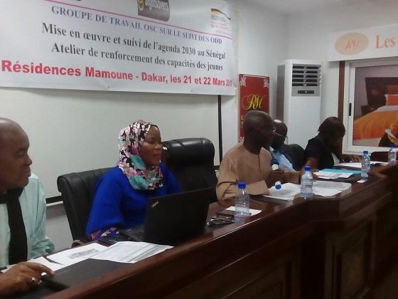 SUIVI DES OBJECTIFS DE DEVELOPPEMENT DURABLE :  Le rôle fondamental des jeunes  attendu au Sénégal