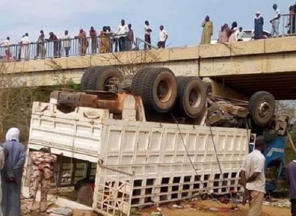 Drame au Tchad: un accident de la route fait 22 morts et plusieurs blessés