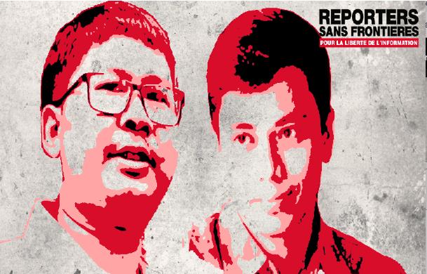 Deux journalistes de Reuters emprisonnés sans appel en Birmanie : Reporters sans frontières toujours constant dans sa demande de soutien