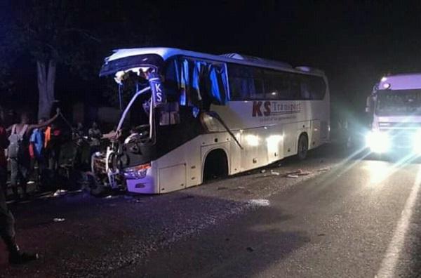 Côte d'Ivoire : un accident de la circulation sur l'autoroute du Nord fait 6 morts et plus de 40 blessés