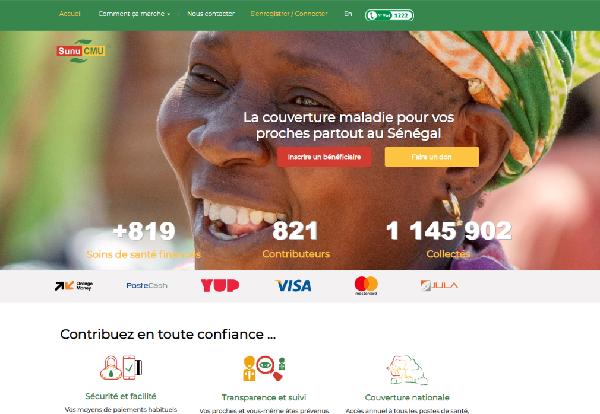 Santé : l'Agence de la Couverture Maladie Universelle du Sénégal lance une nouvelle plateforme numérique « sunucmu.com »