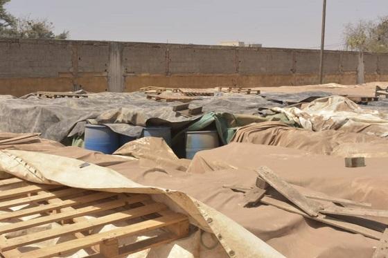 DES FÛTS EN ÉTAT DE POURRISSEMENT AVANCÉ À SENCHIM :  500 tonnes de déchets toxiques risquent de créer une catastrophe à Dakar