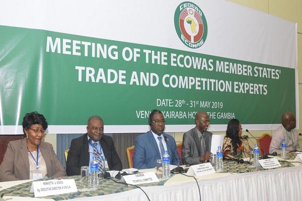 Gambie : des experts en commerce et concurrence de la CEDEAO entament la réunion sur la mise en œuvre de la politique concurrencielle