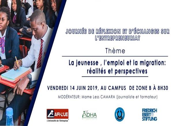 Jeunesse, accès à l'emploi et tentation de la Migration : journée de réflexion de plusieurs acteurs autour des défis et perspectives