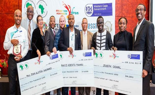 Jeunesse et Agriculture : un Kenyan et un Sud-Africain  lauréats 2019 du concours AgriPitch pour les jeunes