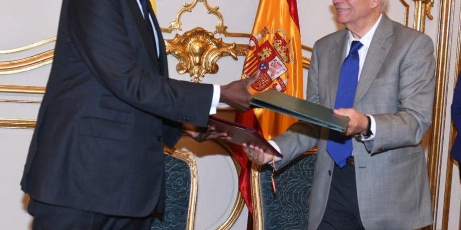 Deuxième Session de Consultations politiques entre l'Espagne et le Sénégal : un accord de coopération signé entre les deux pays