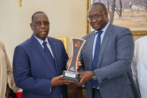 Pétrole et gaz: Macky Sall récompensé d'un prix par des acteurs africains de l'énergie