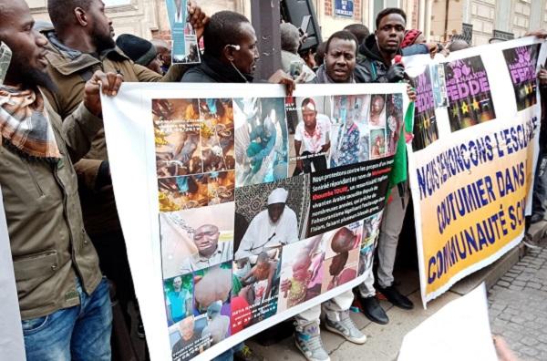 Manifestation devant l'ambassade d'Arabie Saoudite en France : quand un imam malien veut donner une légitime islamique à l'esclavage
