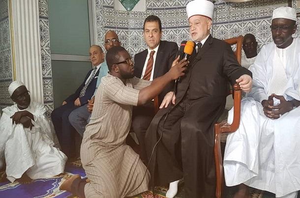 Visite du grand mufti de Palestine à la mosquée Masdjid As Salam: Cheikh Mohamad Ahmad Husseinet son poignant discours qui a fait frissonné plus d'un