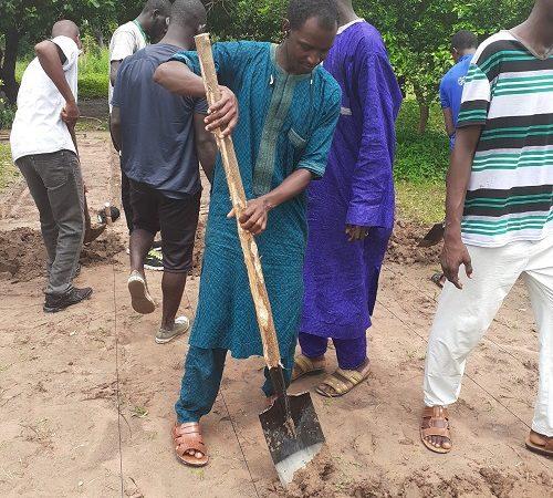 Développement économique et écologique de Kaffrine : 1.100.000 arbres plantés par de l'ONG TREES FOR THE FUTURE