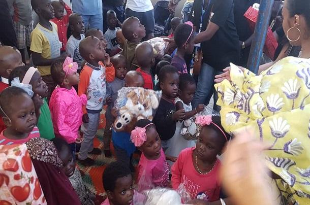Actions de solidarité humaine : l'association V2S au chevet aux orphelins des Parcelles Assainies