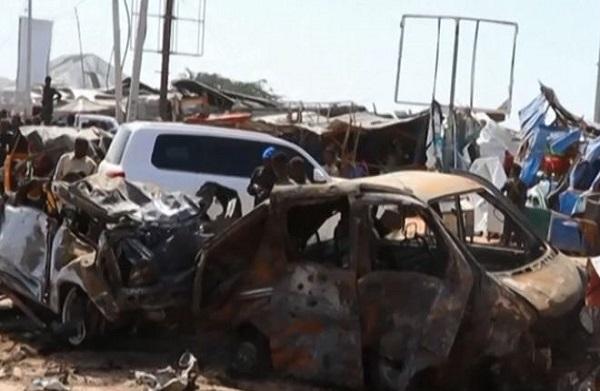 Somalie : Plus 70 morts après l'explosion d'une voiture piégée à Magadiscio