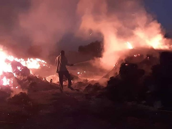 Louga : un incendie fait d'importants dégâts dans un village proche de Sagatta