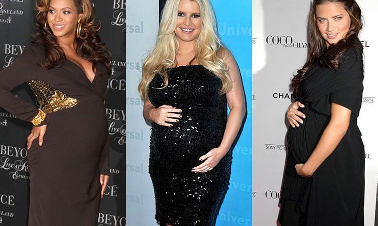 PHOTOS Découvrez combien de kilos de grossesse ont pris les stars  Pas toutes égales face à la prise de poids