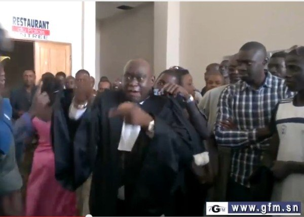 Tribunal Correctionnel de Dakar : Drôlement terrible ce Me Diouf !!!