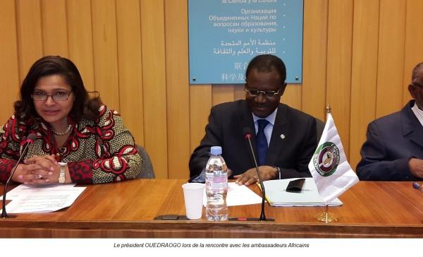La Commission de la CEDEAO consolide ses relations avec l'UNESCO