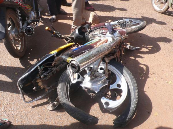 Accident à Thiaroye : jeune motocycliste mortellement fauché par un camion
