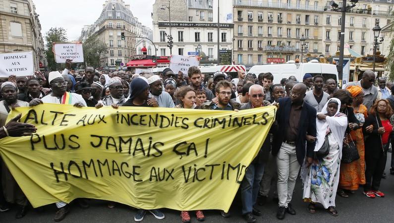 Soutien aux victimes de l'incendie de Paris : HSF regrette  l'indifférence de la presse et de l'opinion internationales.