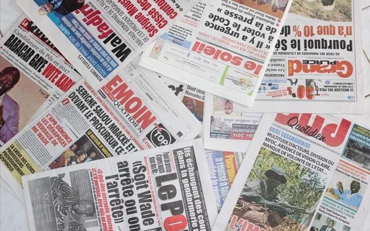 Revue de la presse sénégalaise  La révocation de Sonko fait le buzz