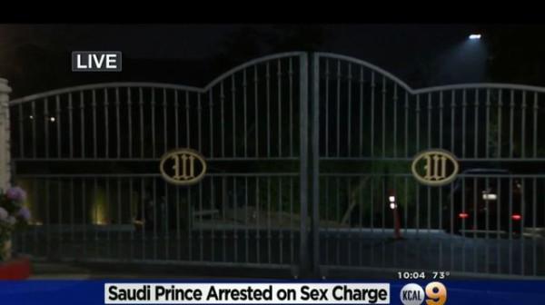 Beverly Hilles/Californie : Un prince saoudien arrêté pour, séquestration et crime sexuel