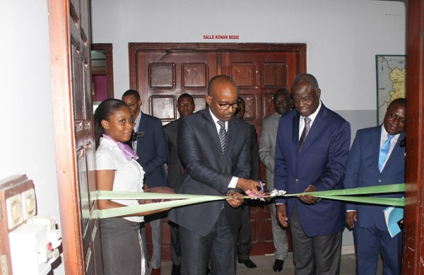 Développement du Marché Financier Régional, la BRVM connecte l'INSTEC Abidjan