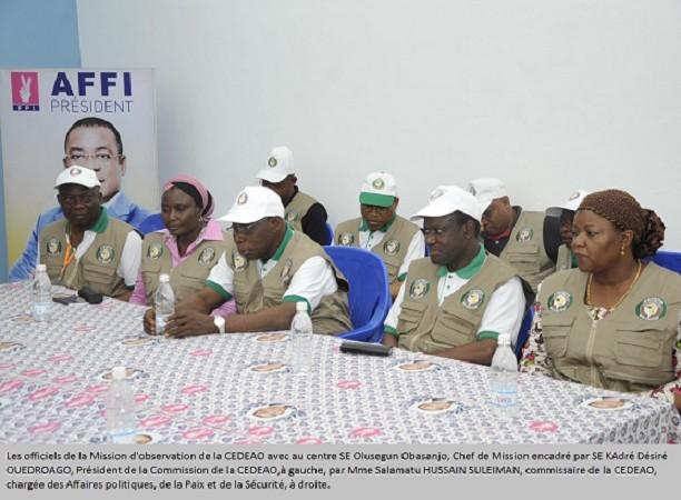 La présidentielle ivoirienne s'est déroulée dans une atmosphère calme et pacifique, constat de la mission de la CEDEAO