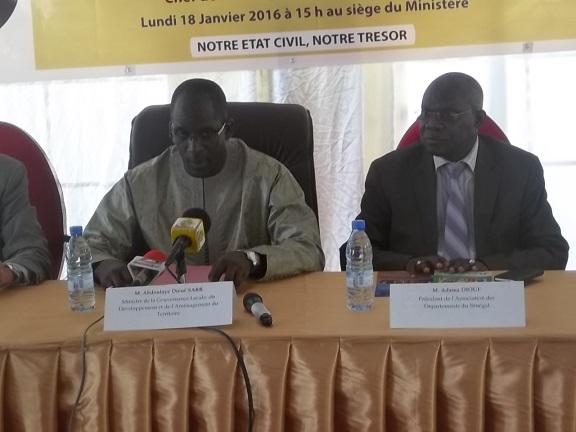 Modernisation de l'Etat Civil : Le Sénégal quitte l'ère préhistorique vers plus d'efficience et d'efficacité