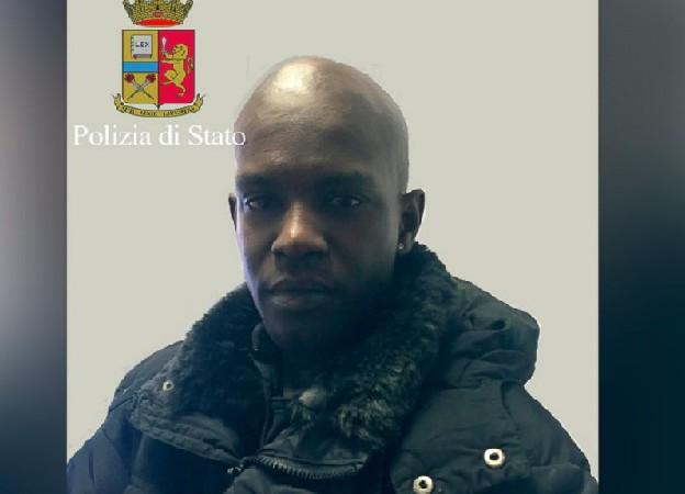 Florence, Italie Cheikh Tidiane Diaw, un Sénégalais suspecté et arrêté pour la mort par strangulation d'une Américaine