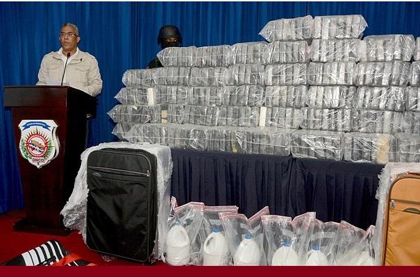 Trafic de drogue Le chef d'Interpol au Venezuela arrêté pour contrebande de 349 kg de cocaïne