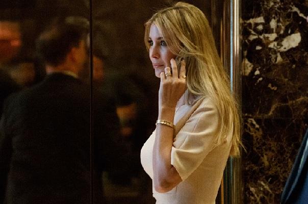 Ivanka Trump la fille du président harcelée par une personne foncièrement contre l'élection de son père