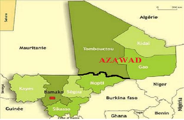 Mali : l'Azawad renonce à sa décision de réglementer la vie publique à la place de l'Etat