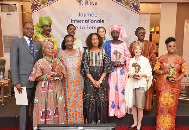 Mme Mariama Sy, Dirt. Rég. AllAfrica « La transformation des économies avec les femmes, piliers essentiels de la société et socle familial… »