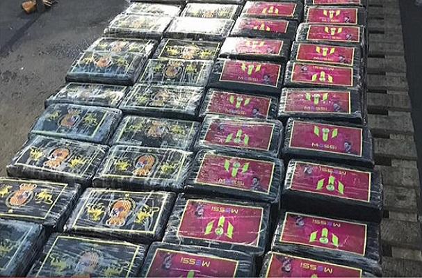 Drogue Une cargaison de cocaïne, d'une valeur de 55 milliards FCFA  vers l'Europe, saisie par la police péruvienne