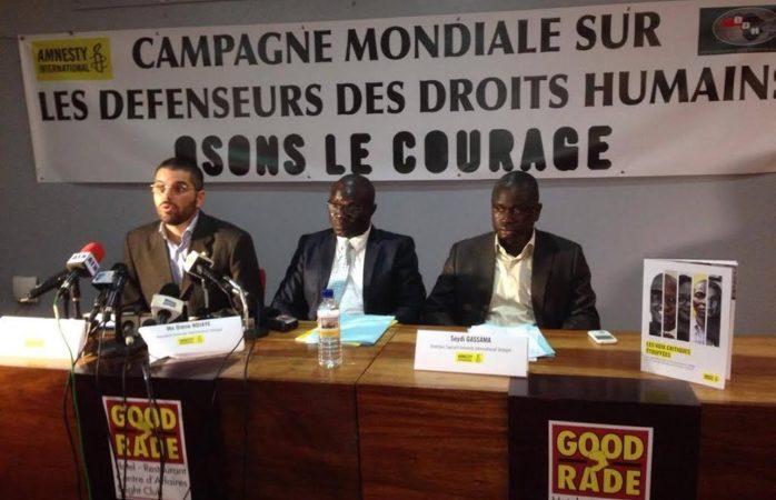 Attaques contre les défenseurs des droits humains : Amnesty International tire la sonnette d'alarme
