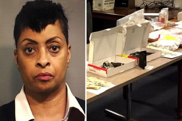 USA/Drogue une ancienne inspectrice en narcotique tombe avec un vaste réseau de quatorze trafiquants