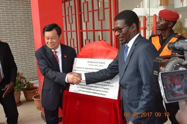 Ucad : une source du savoir de l'Institut Confucius de l'Ucad inaugurée hier…