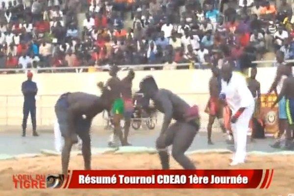 Lutte traditionnelle : La 11ième édition du tournoi de la CEDEAO débute à Niamey