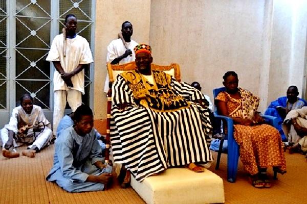 Mogho Naba un chef traditionnel et spirituel du Burkina Faso lauréat de la 1ière édition du « Prix Macky Sall pour le Dialogue en Afrique »