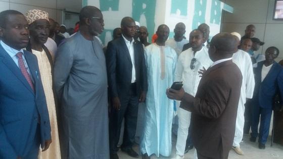 visite à l'aéroport International Blaise Diagne (AIDB) :  Les opérateurs économiques  souhaitent un cadre formel de travail
