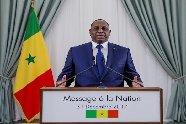 Discours du nouvel an : l'intégralité du  message à la nation du président Macky Sall