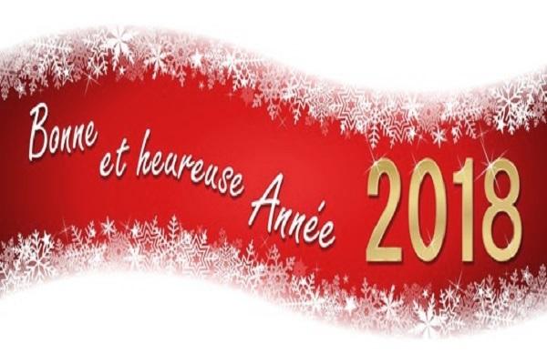 Lactuacho souhaite à ses lecteurs une merveilleuse année 2018