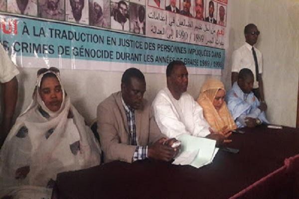 Suite à la vague d'arrestation : le communiqué issu de la Conférence de presse d'IRA-Mauritanie tenue ce 16 janvier 2018