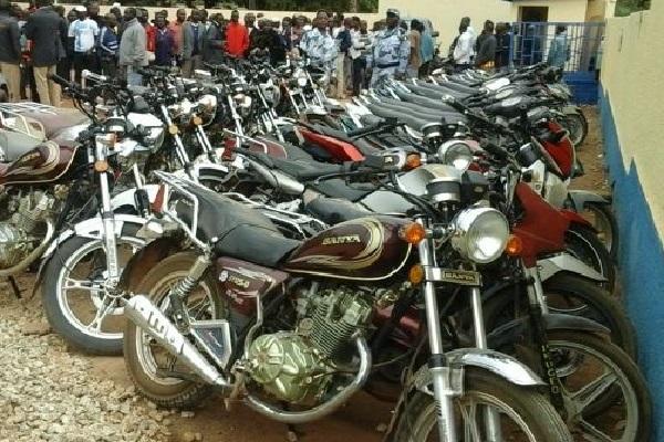 Chaude journée hier à Fatick : 10 conducteurs de moto Jakarta arrêtés, plus de 100 motocyclettes immobilisées