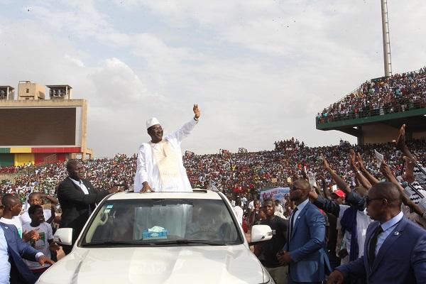 Mali/Election présidentielle : Soumaïla Cissé investi pour « restaurer l'espoir »