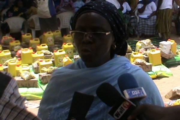 Solidarité : l'ASPEFAM offre son soutien ramadan à plusieurs familles lougatoises démunies