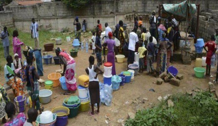 Pénurie d'eau en pleine chaleur et en pleine pandémie de COVID-19 : Sen'eau, ses risques et paradoxes infligés aux populations